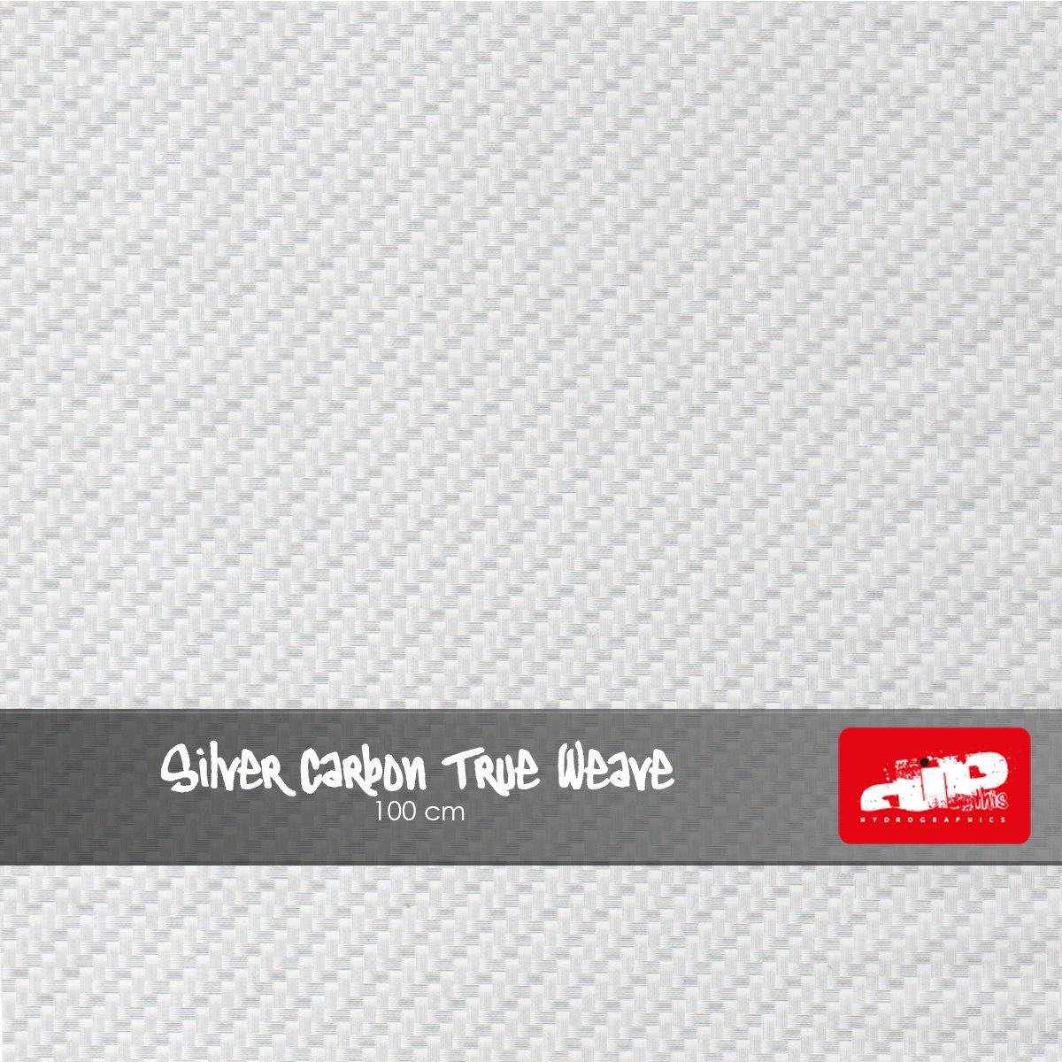 Silver Carbon True Weave