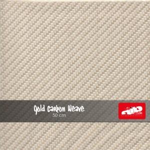 Gold Carbon Weave