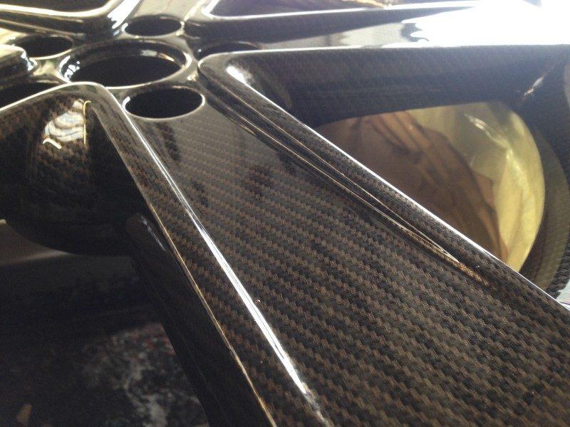 Gold Carbon True Weave