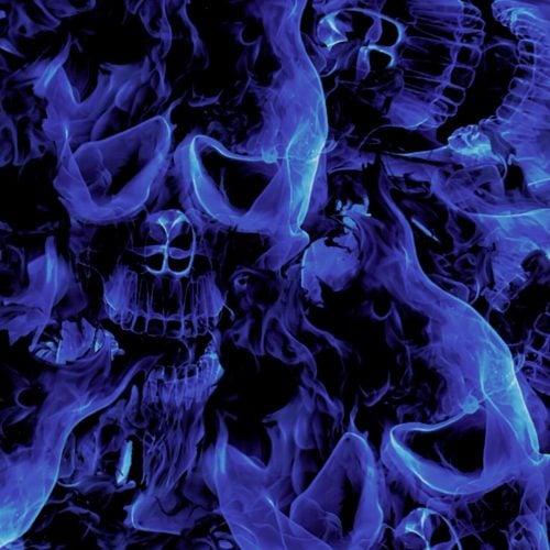 Blue Inferno SKull