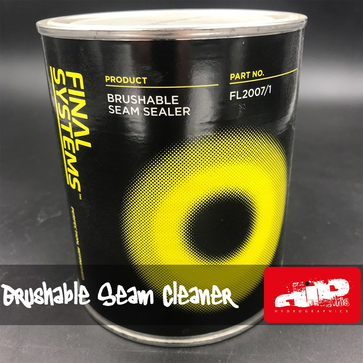 brushable seam cleaner