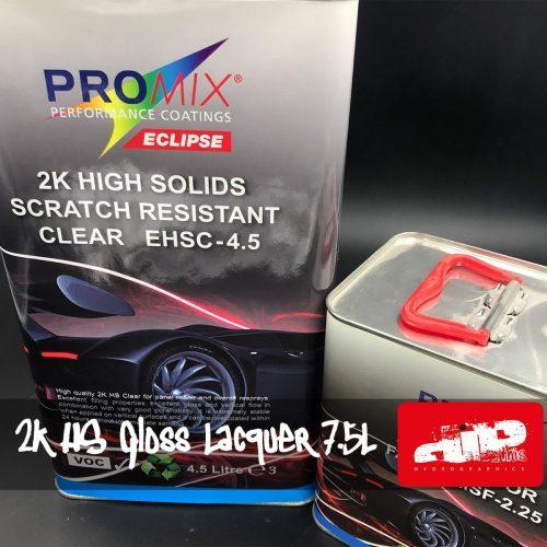 PROMIX 2K HS SCRATCH RESISTANT GLOSS LACQUER KIT 7.5L