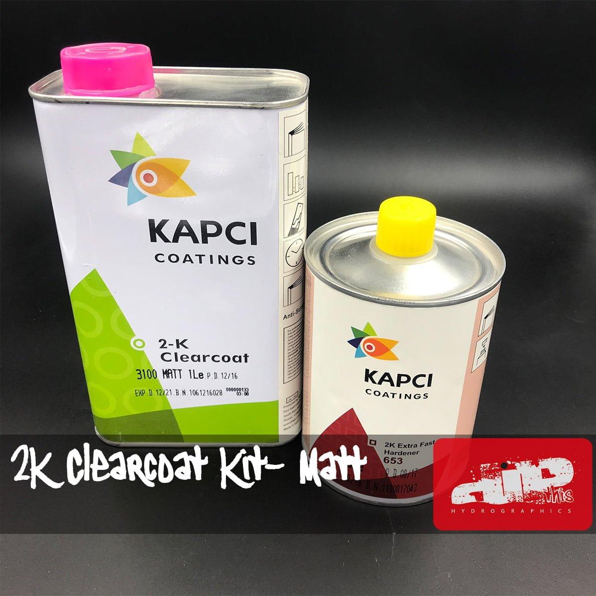 KAPCI 2K Matt Clearcoat Kit 1 5 Litre