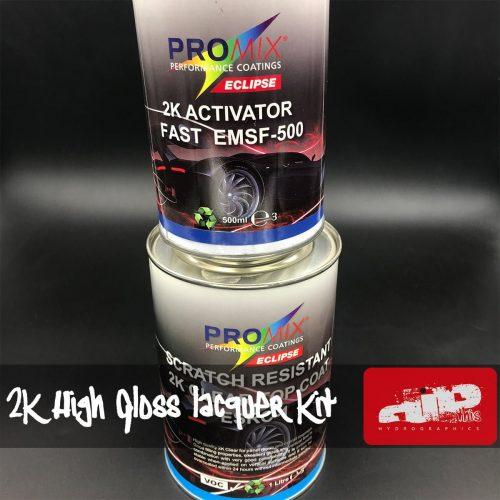 PROMIX 2K High Gloss Lacquer Kit 1.5 Litre