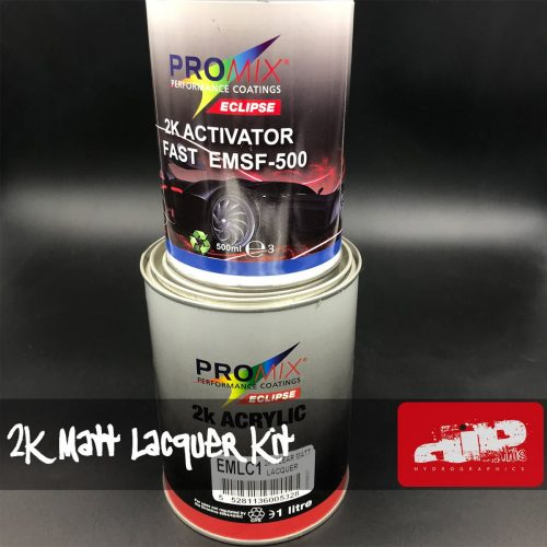PROMIX 2K MATT LACQUER AND ACTIVATOR KIT 1.5L