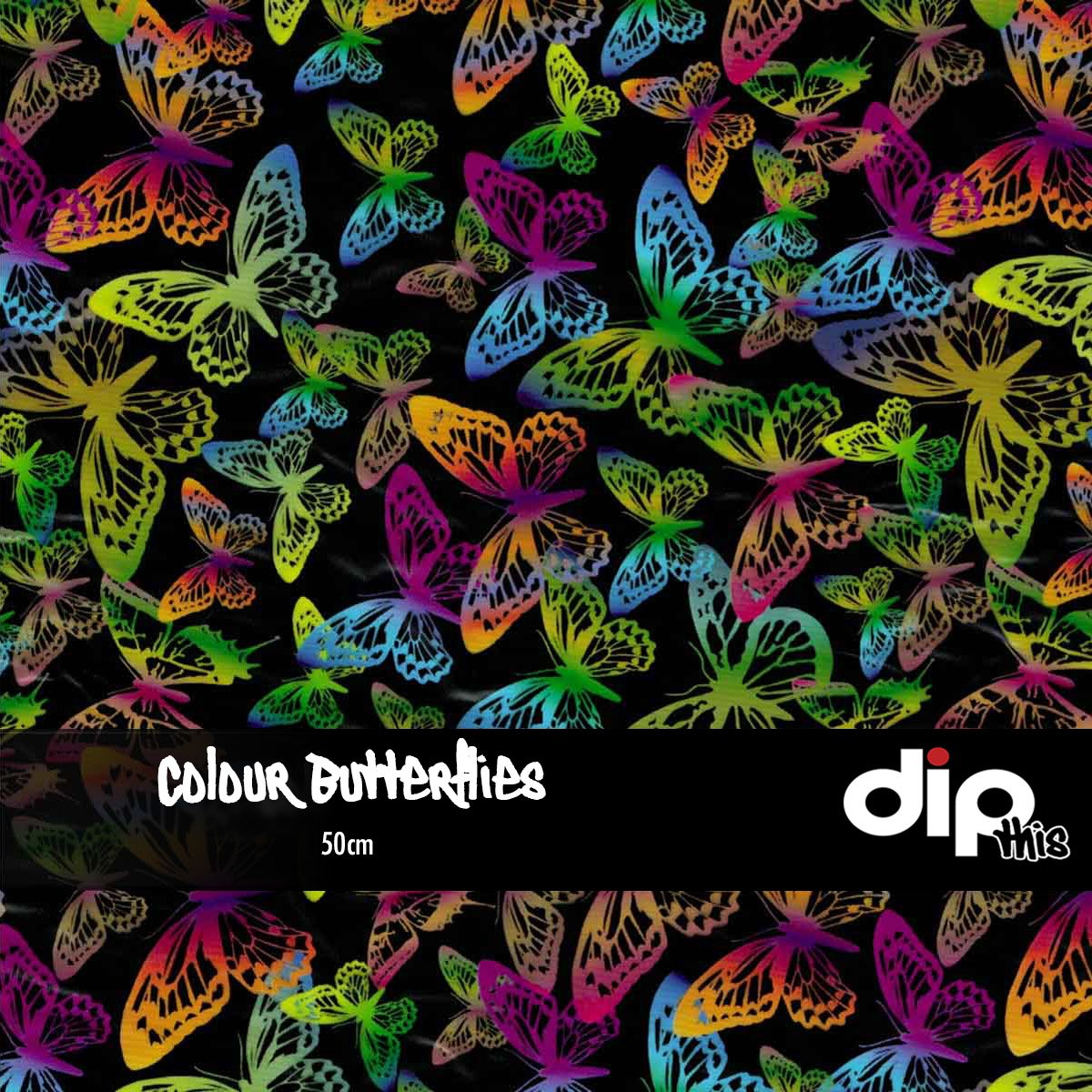Colour Butterflies