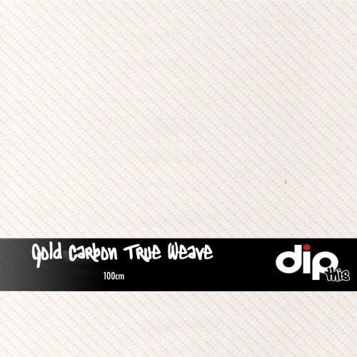 Gold Carbon True Weave Dip Kit