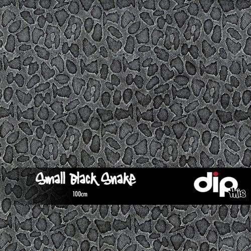 Small Black Snakeskin Dip Kit
