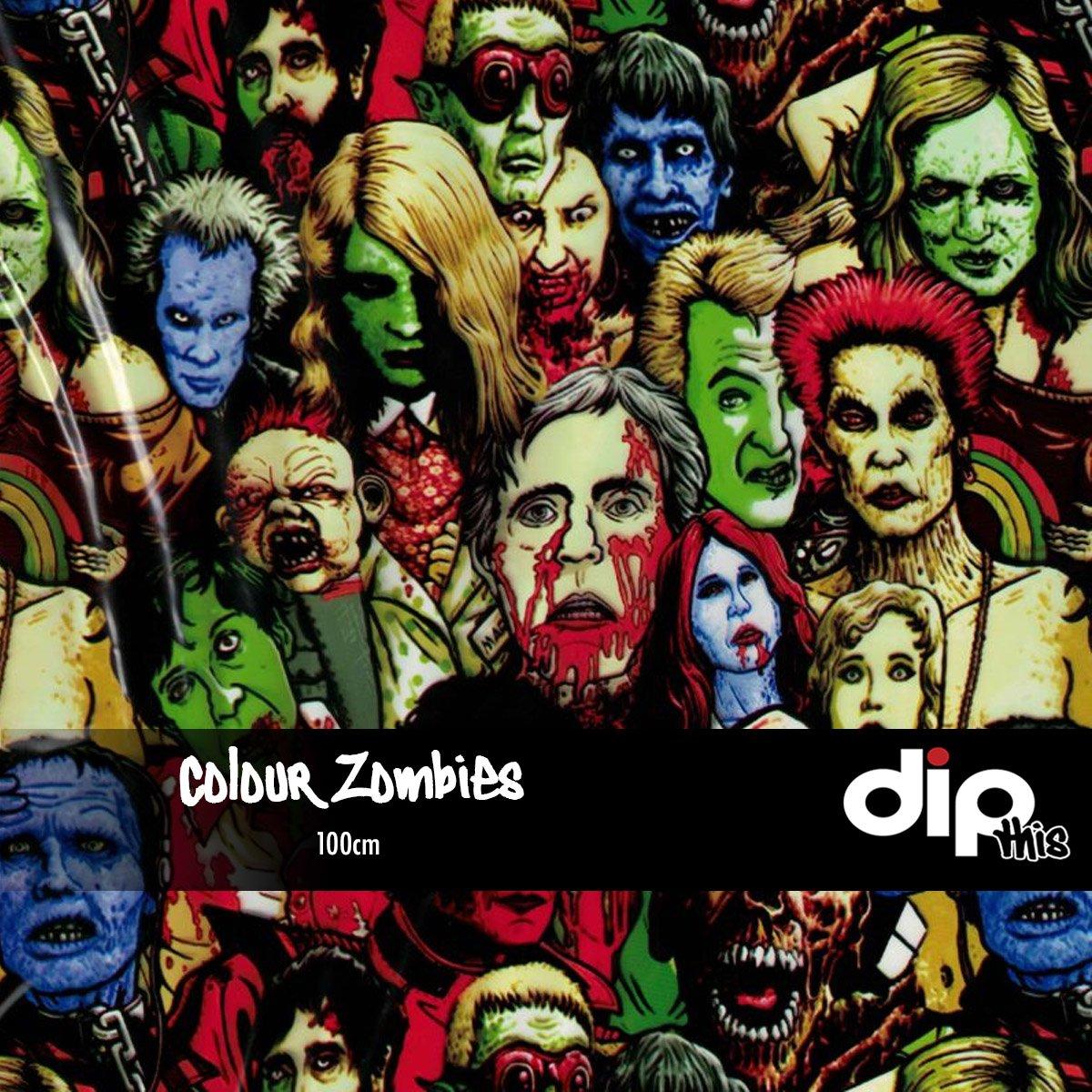 Colour Zombies Dip Kit