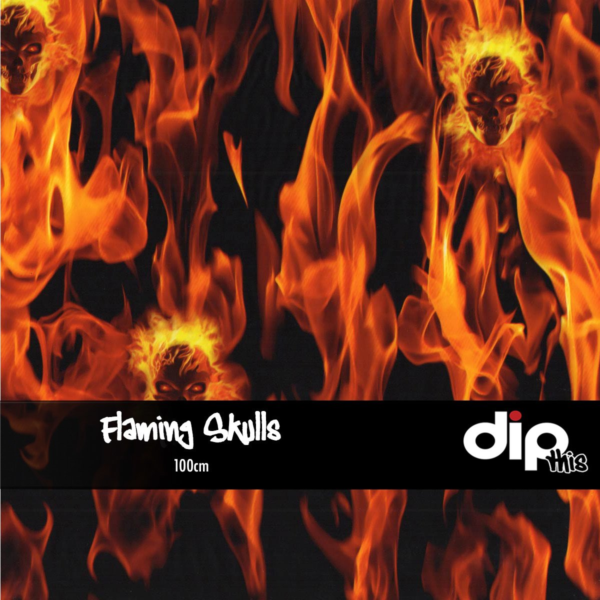 Flaming Skulls Dip Kit