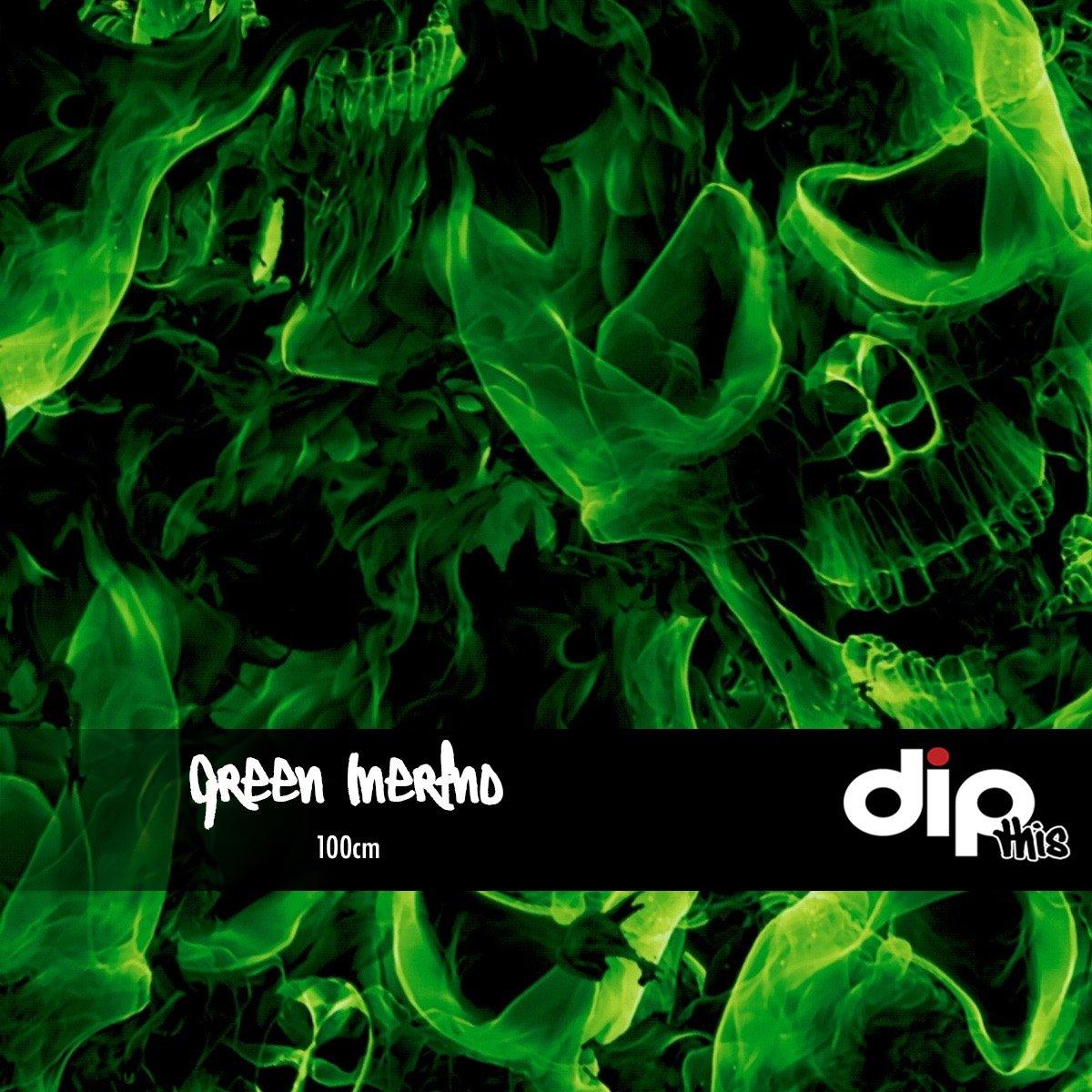 Green Inferno Skulls Dip Kit