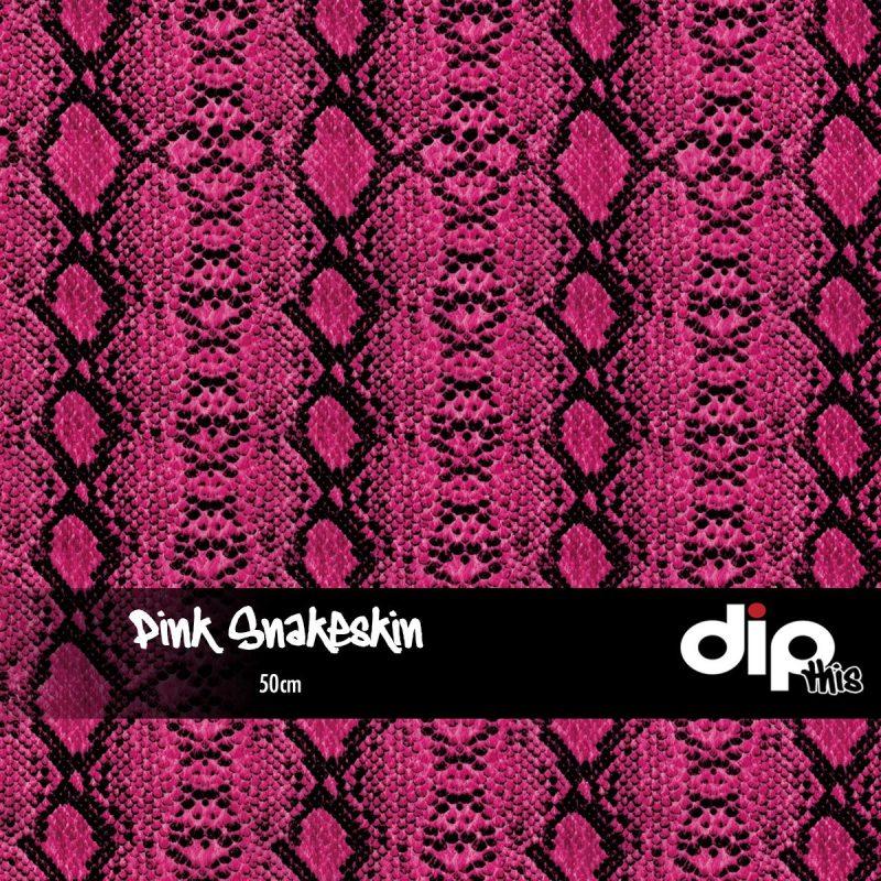 Pink Snakeskin Dip Kit
