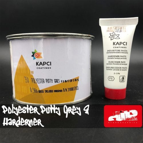 KAPCI GREY POLYESTER PUTTY & HARDENER KIT