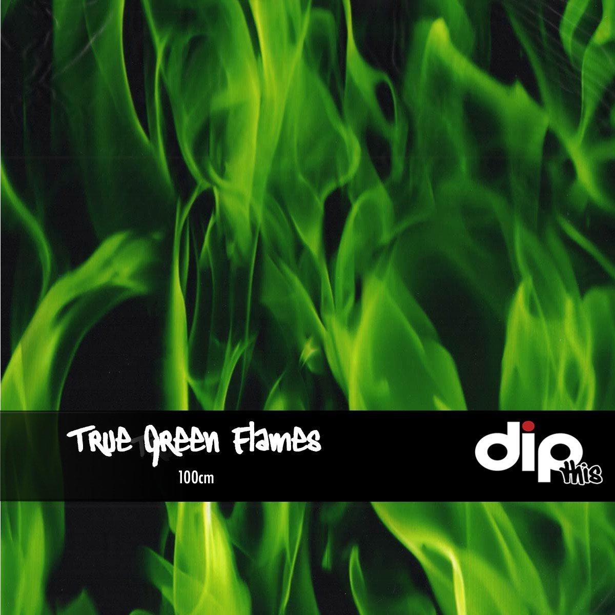 True Green Flames Dip Kit